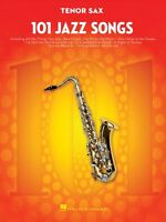 101 Jazz Songs For Tenor Sax Instrumental Solo Book 000146367