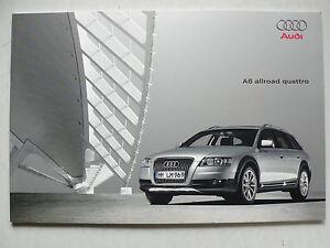 éNergique Prospectus Audi A6 Allroad Quattro, 3.2006, 52 Pages, Contient De Couleurs Et Coussin-afficher Le Titre D'origine