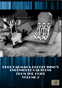 Looney-Tunes-Harman-Ising-039-s-Uncensored-Cartoons-from-the-1930s-Vol-2-DVD-Bosko