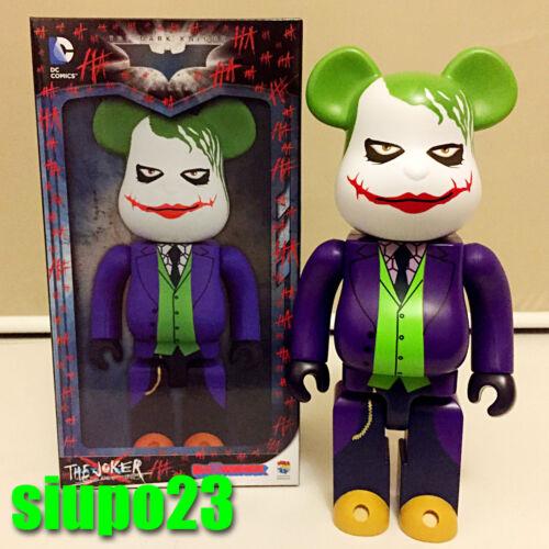 Medicom 400/% Bearbrick ~ DC Comics The Joker Be@rbrick Why So Serious Batman