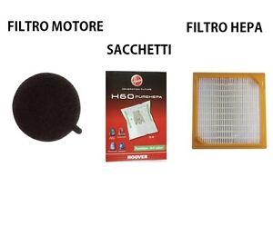 KIT-FILTRO-HEPA-T70-FILTRO-MOTORE-S58-SACCHETTI-H60-HOOVER-ORIGINALI-SENSORY