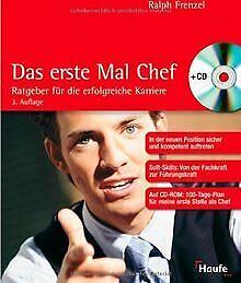 Das erste Mal Chef, m. CD-ROM von Frenzel, Ralph | Buch | Zustand sehr gut