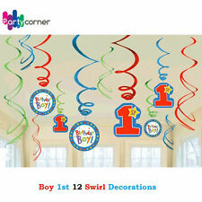 Boy 1st Birthday Party Supplies High Chair Decorating Kit