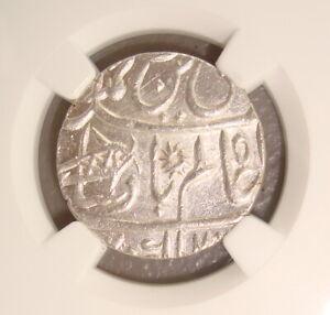 AH 1229 (1749) British India, Bengal Presidency Silver Rupee NGC MS63