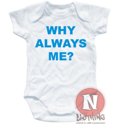 Naughtees Clothing Why Always Me Mario Balotelli Man City Manchester Babygrow