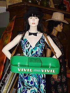 VIVIL VIVIL Bauchladen Antik alte Werbung VIVIL VIVIL Bauchladen