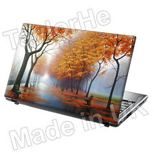 "15.6"" Laptop Skin Cover Sticker Decal Golden Leaves 137"