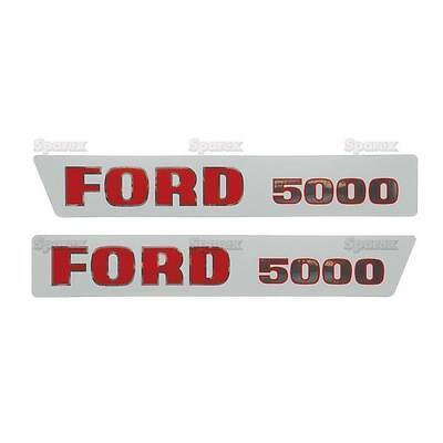 Motorhaube Aufkleber Set für Ford 3600 Tractors.