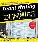 Grant Writing for Dummies by Beverly Browning (CD-Audio, 2006)