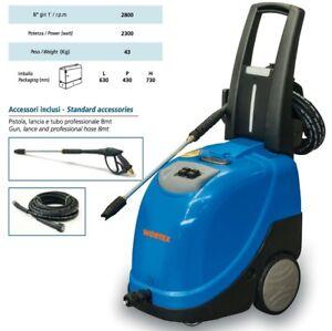 Hochdruckreiniger Diesel WORTEX Vapo 8/110 Wasser Warm 90°C 2300 W 2800 Time /