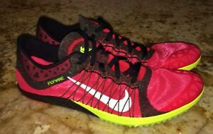 info for 9bf36 59f53 Image is loading NIKE-Zoom-Victory-XC-3-RED-Black-Volt-