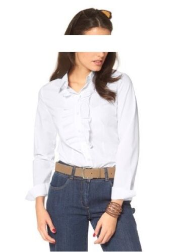 Bluse 65/% Polyester VIVANCE Gr.42,44 35/% Baumwolle