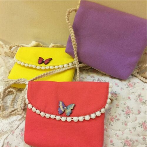 Cute Cloth Messenger Handbags Baby Girls Shoulder Bags Child Kids Coin Purses