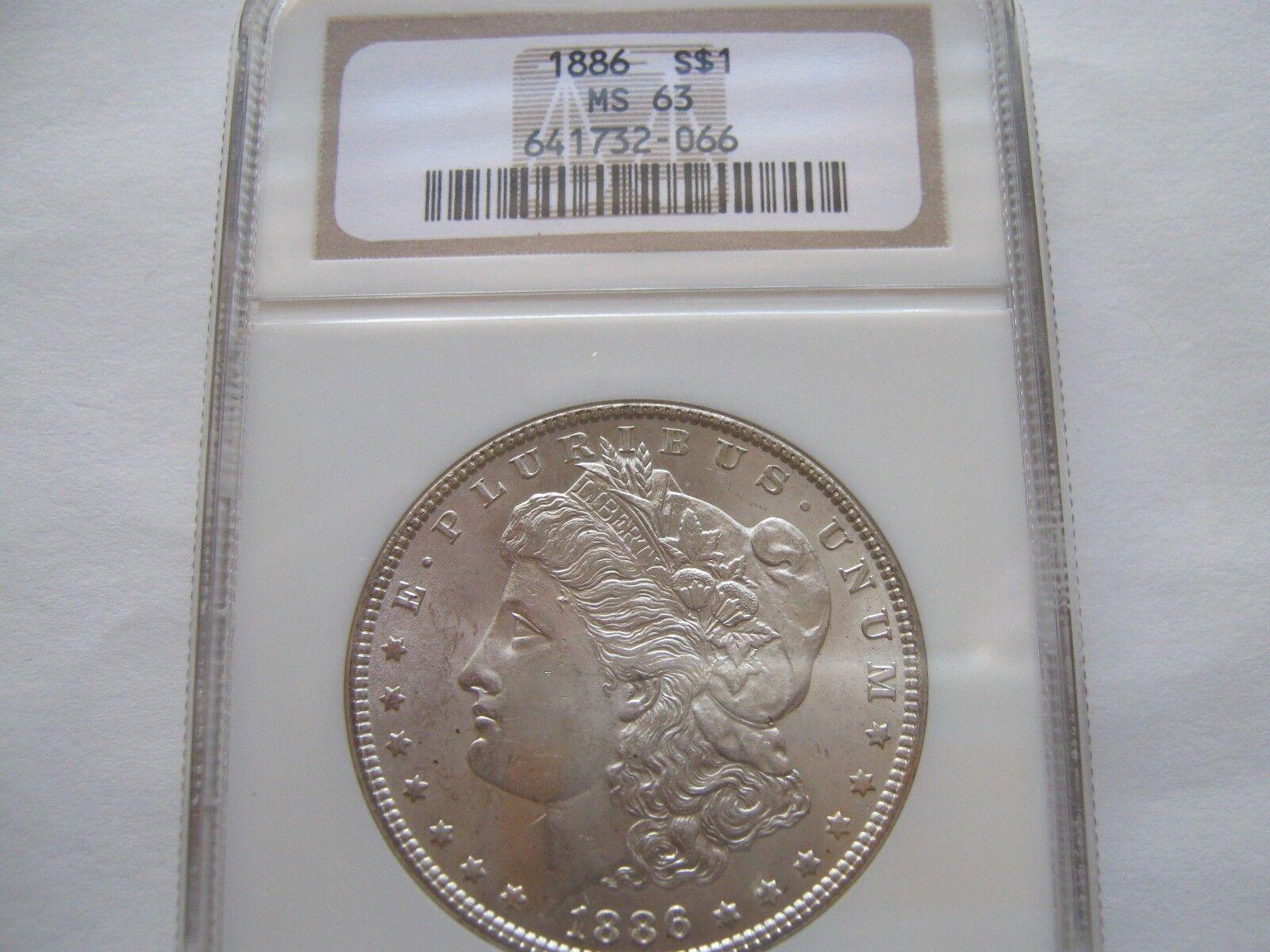 1886 Morgan Dollar - MS-63 NGC
