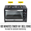 thumbnail 10 - 45L Convention Oven Bench Top Multi Ventilation Hotplates Countertop Baking New