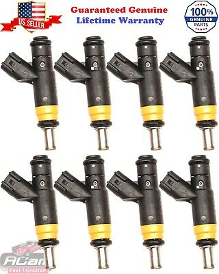 6 Reman Siemens Fuel Injector Flow Matched Set Motor Man 3.0L Ford 4L8E-A4A