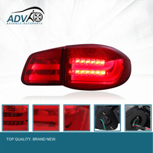 Pair-New-Superb-LED-Rear-Tail-Lights-Tail-Light-Lamps-For-VW-Tiguan-5N-2010-2012