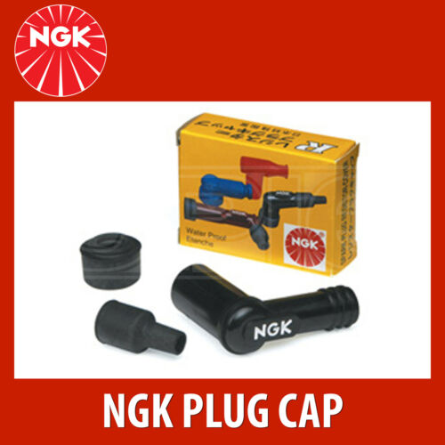 - Single 8511 NGK Motorcycle Resistor Spark Plug Cap // Cover SB05EC Red