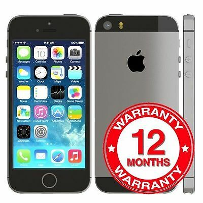 Apple iPhone 5s - 32GB - Space Grey (Unlocked) Smartphone - GOOD CONDITION