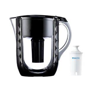 La-Jarra-Brita-10-Copa-gran-BPA-del-agua-con-filtro-1-Burbujas-Negro