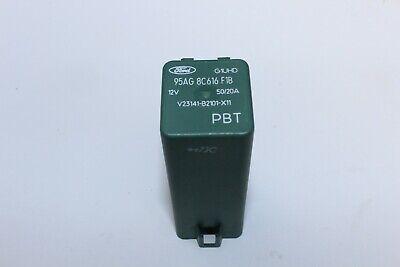 *GENUINE* FORD 4 PIN 12V RELAY GREEN 94FG13A025A1B