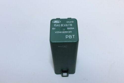 *GENUINE* FORD 8 PIN 12V RELAY GREEN 95AG8C616F1B