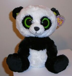 4e2d04af55c Ty Beanie Boos ~ BAMBOO the Panda Bear (9 Inch ~ Medium Size)(Solid ...