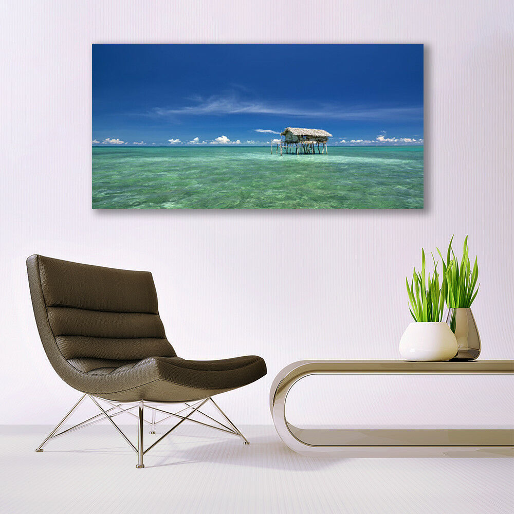 Glass print Wall art 140x70 Image Picture Sea Landscape Landscape Landscape d2e9cd