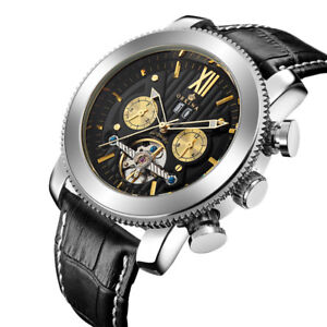 Fashion-ORKINA-Date-Military-Sport-Watch-Tourbillon-Self-Wind-Mechanical-Watches