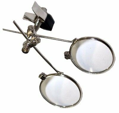 Sincere Double Clip-on Eye Loupe Magnifying Glass 10x & 10x = 20x Magnification Loopy Loupes & Magnifiers
