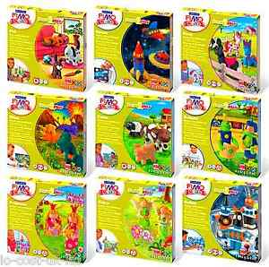 NEW-FIMO-KITS-FOR-KIDS-FORM-PLAY-POLYMER-MODELLING-OVEN-BAKE-CLAY