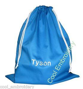Personalised-BIG-Drill-Christmas-Santa-Sack-Bag-60x50cm-Choose-colour