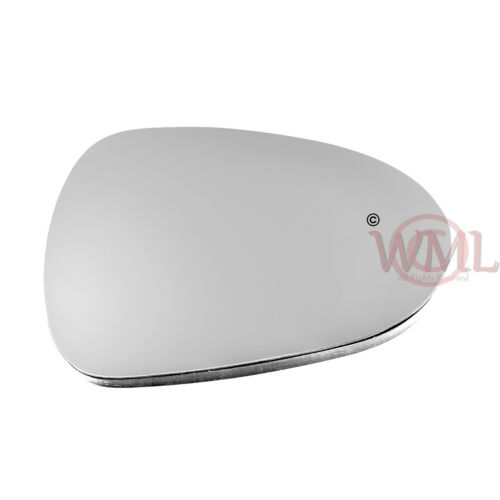 HEATED /& BASE,RIGHT SIDE SEAT EXEO 2008/>2017 DOOR MIRROR GLASS SILVER CONVEX