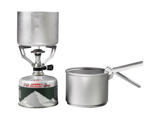 Coleman F1 Spirit Kit Stove /& Aluminium Panset 2 Pots Pot-Grip RRP