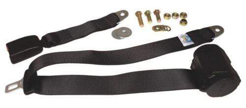 111857693cblk Beetle Cintura di sicurezza 3 PT POSTERIORE inerzia moderno tutti Web NERO Securon