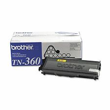 Brother TN360 High Yield Toner Cartridge Black BRAND NEW   GENUINE   OEM   NIB