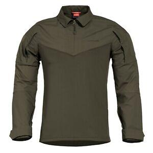 IngéNieux Pentagon Camicia Uomo Militare Tattica Caccia Pesca Ranger Shirt Ranger Green Couleur Rapide