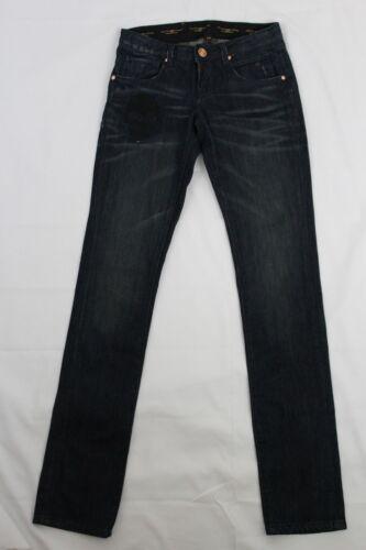 Nuove Skinny donne Ed Audigier Hardy Denim Christian Jeans Skull Fit Blue rqrz6