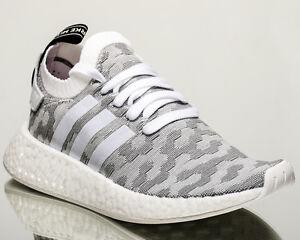 22d3d1882 adidas Originals WMNS NMD R2 Primeknit women lifestyle sneakers grey ...