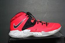 Nike Lebron Zoom Soldier VII 7 '14 Multi Crimson Men 10.5 Athletic Basketball