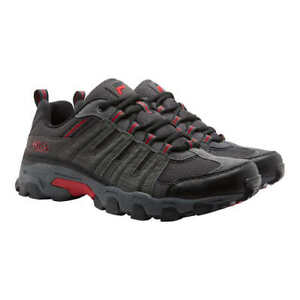 comentarista defecto Obligar  NEW IN BOX Fila Men's Westmount Trail Shoes All Terrain Tennis Sneaker Grey  Red | eBay