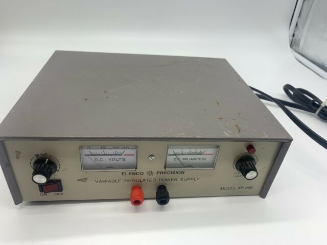Elenco Precision XP-656 Laboratory Variable Regulated Power Supply