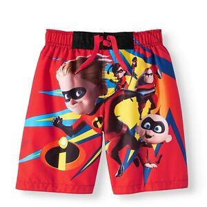 Disney Store Mickey Mouse Swim Trunks Shorts Boy Size 5//6