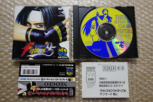 The-King-Of-Fighters-95-Kof-Spine-Regist-034-Good-Condition-034-Neo-Geo-CD-SNK-Japan