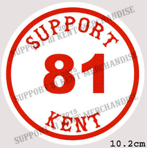 SUPPORT-81-KENT-HELLS-ANGELS-ENGLAND-Large-Glossy-Sticker-BIG-RED-MACHINE-KENT