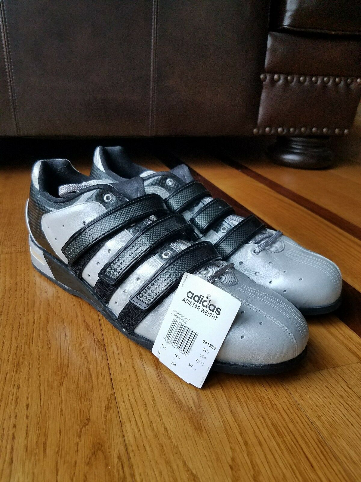 NEW Vintage 2005 Adidas Adistar Olympic Weightlifting shoes Sz 15 Made Germany
