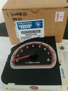 PROTON-SAGA-AEROBACK-TACHOMETER-RED-ORIGINAL-NEW