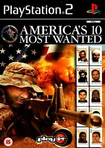 America-039-s-10-Most-Wanted-PS2-PlayStation-2-Free-Post