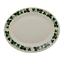 """miniature 1 - Vintage Homer Laughlin Serving Platter HLC258  Dark Green Leaves and Vines 13.5"""""""