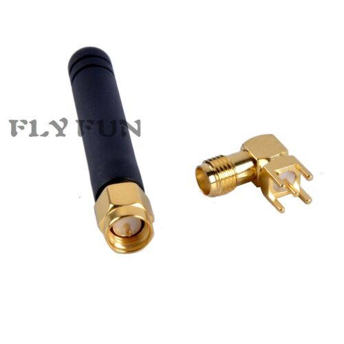 2.4G Wireless Wifi Antenna with SMA Connector 5cm SMA Male